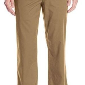 Dockers Men's Washed Khaki Straight-Fit Flat-Front